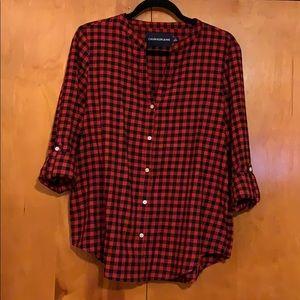 Calvin Klein Plaid Shirt